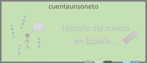Sobre la historia del soneto en España.