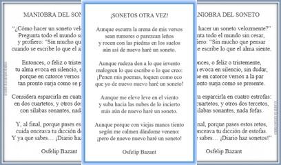 Projet de cuentaunsoneto, d'Osfelip, sonnets classiques, sonnets de cuentaunsoneto d'Osfelip, le classicisme, la poésie dans le classicisme et Renaissance, poèmes et sonnets