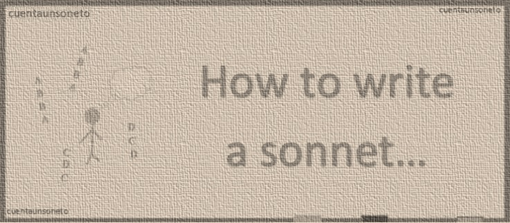 How to make a English or Shakespearean Sonnet? How to write a sonnet?