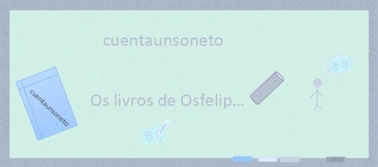 Poemas de Osfelip. Sonetos clássicos de Osfelip. Livros de poesia.