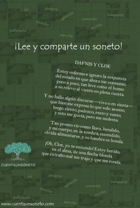 Soneto sobre la novela pastoril de Longo.