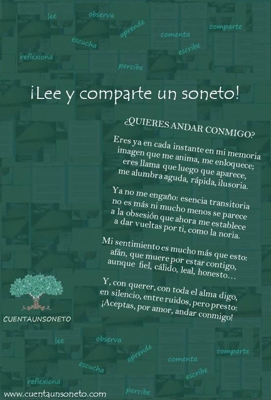 Frases y sonetos de amor. Dedica un soneto romántico.