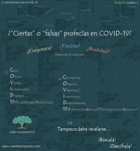 Acrósticos ejemplos con covid y coronavirus.